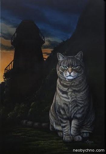 Кошка Тибблс уничтожительница птиц