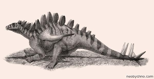 Гигантспинозавр из Китая