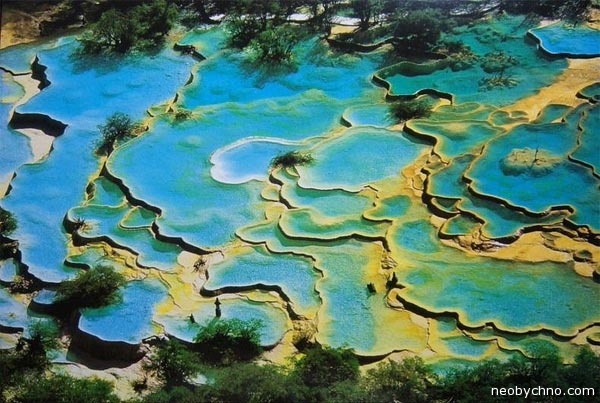 Хуанлун чудо природы