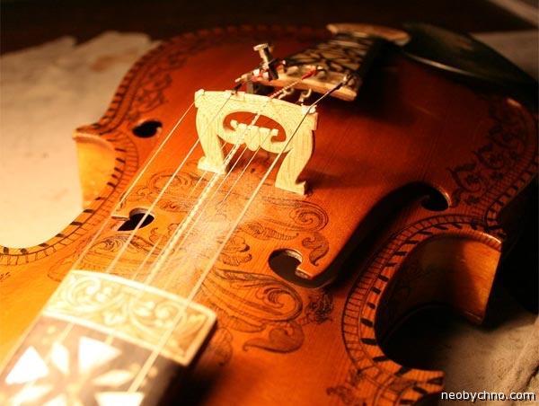 Норвежская двойная скрипка для свадеб