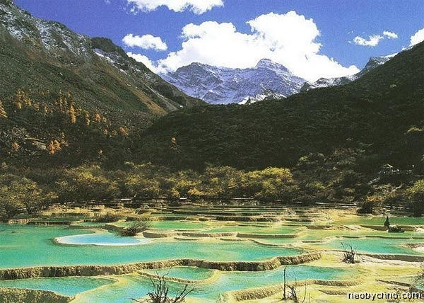 Разноцветье вод Хуанлуна