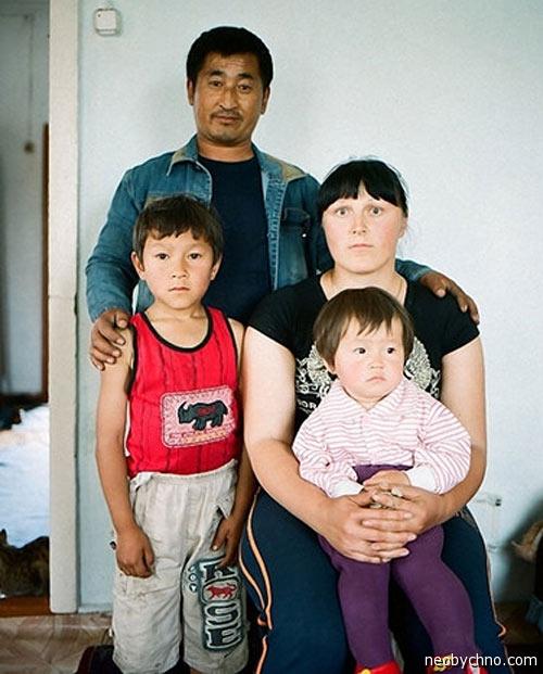 Китайско-русская семья