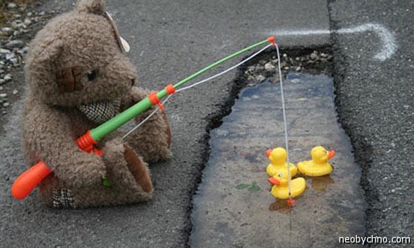 Борьба с ямами на дорогах