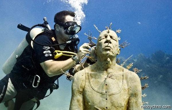 Канкун Подводные скульптуры