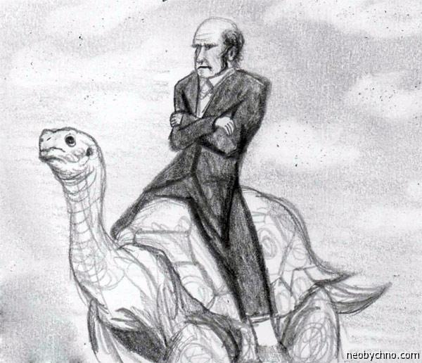 Дарвин и черепаха