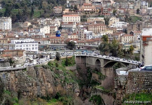 Город Константина в Алжире