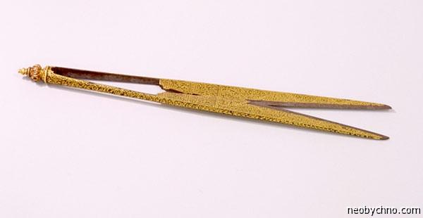 Золотые ножницы Будды