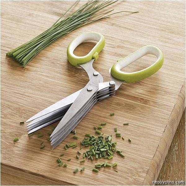Необычные ножницы для зелени