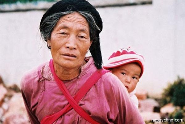 Женщина народа Мосуо