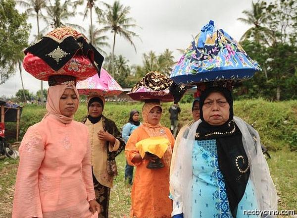 Женщины минангкабау Суматра