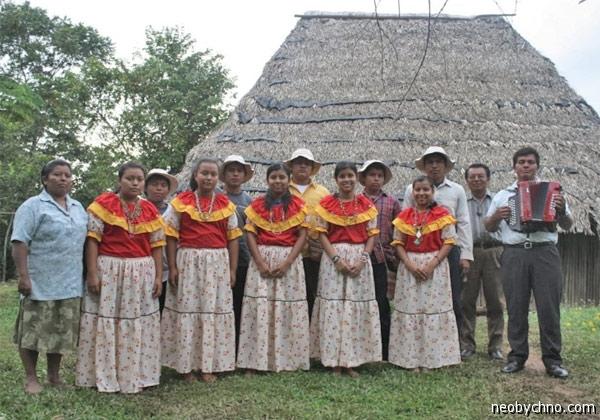 Семейный клан племени Брибри