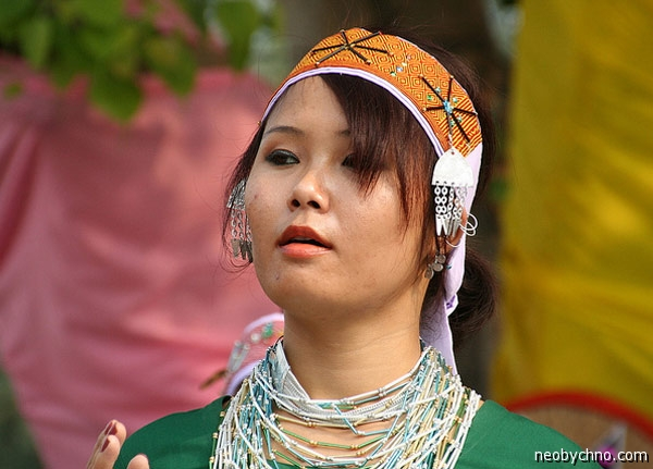 Женщина из племени Гаро