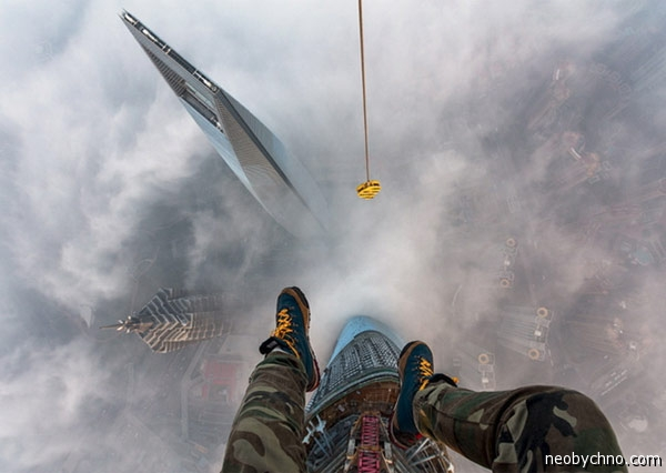 Вид с Шанхайской Башни