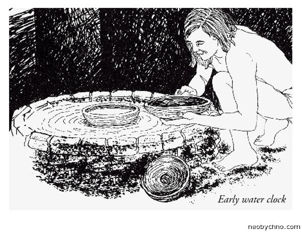 Водяные часы и единица времени гари