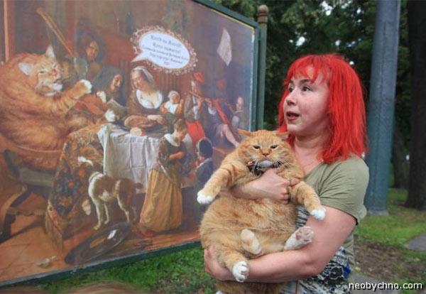 Кот Заратустра и художница Петрова