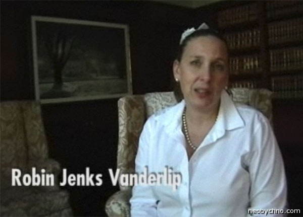 Робин Вандерлип заговорила с русским акцентом