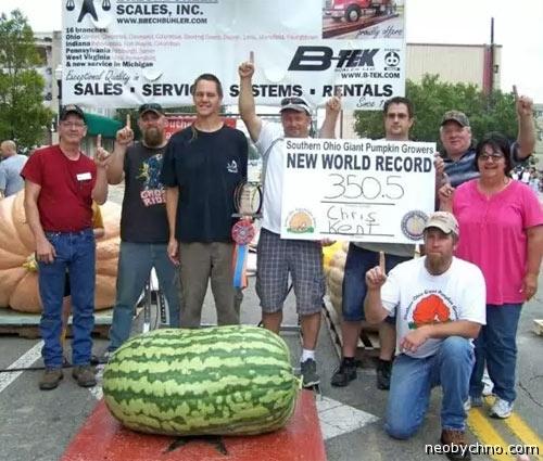 Мировой рекорд арбуза