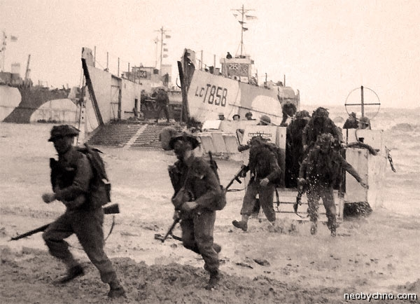 Десант в Нормандии