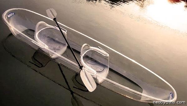Лодка из поликарбоната see-tru-boat-2015