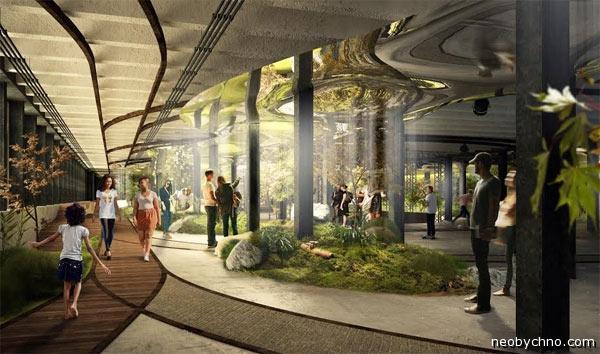 Новое зеленое пространство Нью-Йорка
