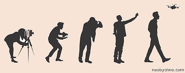 Эволюция фотографии по мнению 2015 года