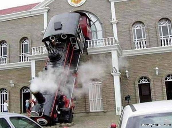 Еще один необычный поезд