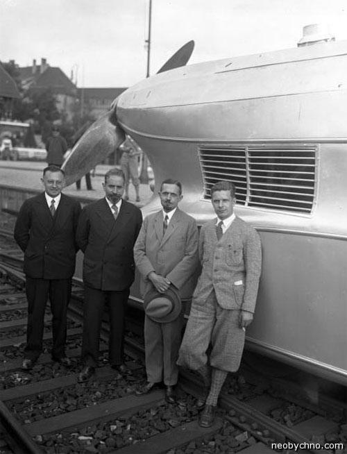 Пропеллерный локомотив Германия