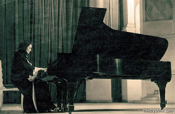 Мария Юдина пианистка