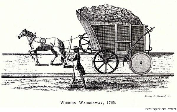Деревянная железная дорога Англия