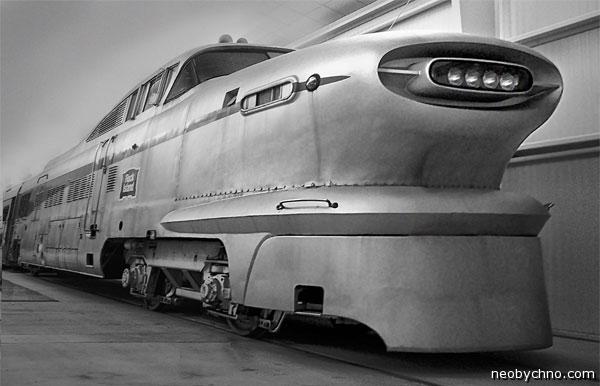 Аэропоезд 1950-х