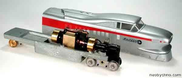 Модель аэропоезда