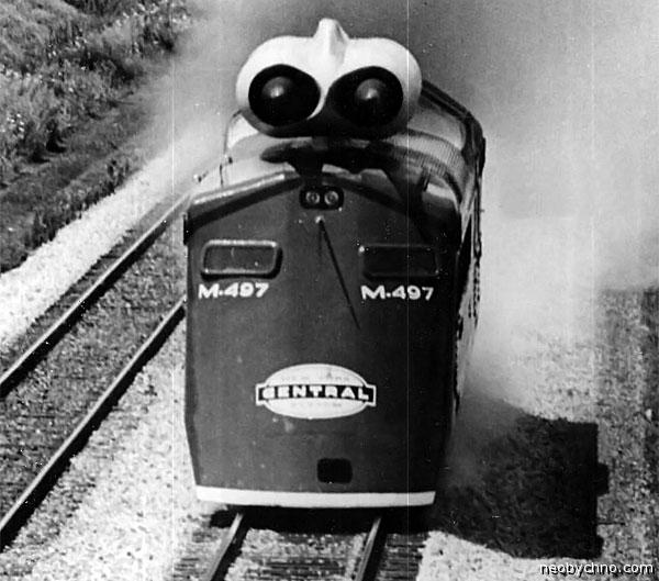 Поезд Чёрный Жук