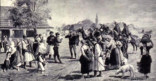 Венгерская деревенская жизнь