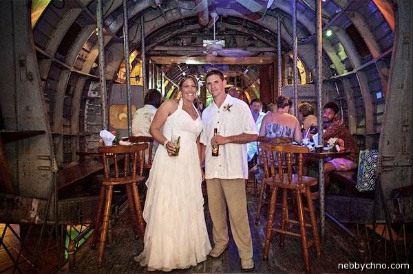 Свадьба в американском военном самолёте