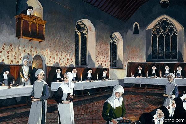 В монастырь помимо воли