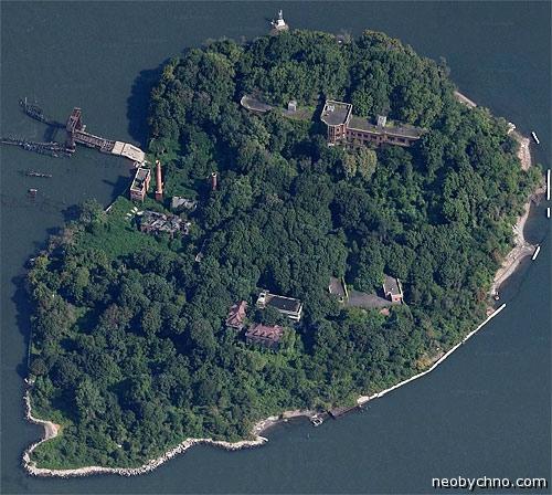 Необитаемый остров в Нью-Йорке