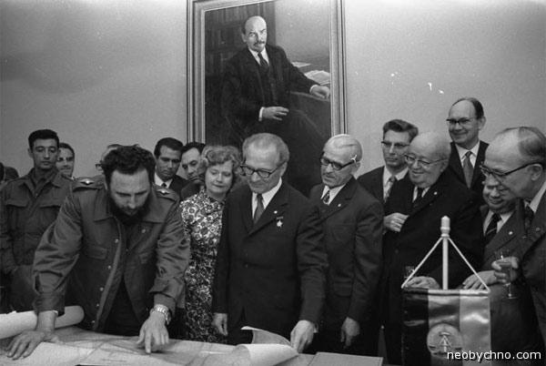 Куба подарила ГДР остров