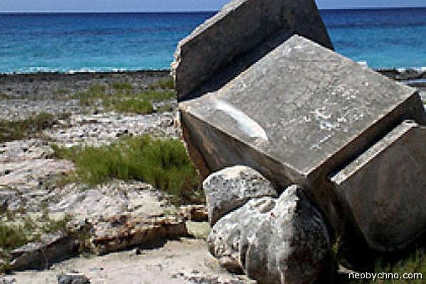 Остров Эрнста Тельмана после урагана
