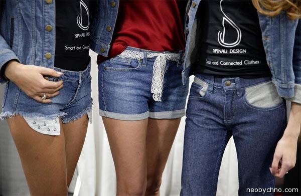 умные городские джинсы