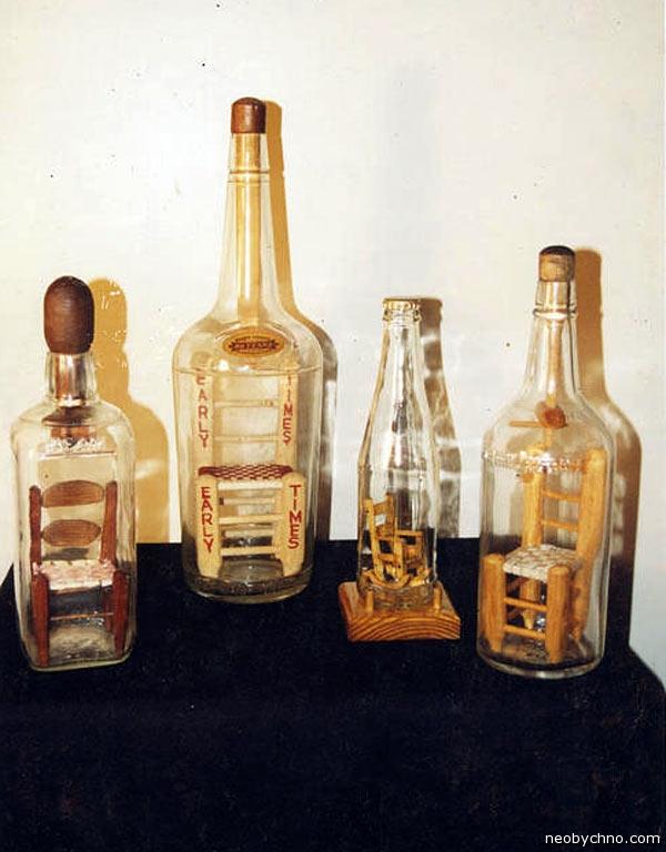 стулья в бутылках