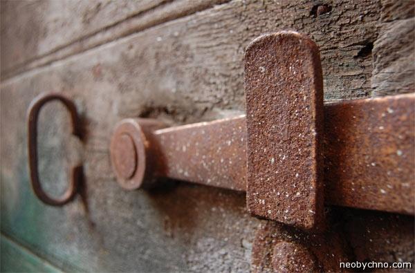 древнеримская дверь