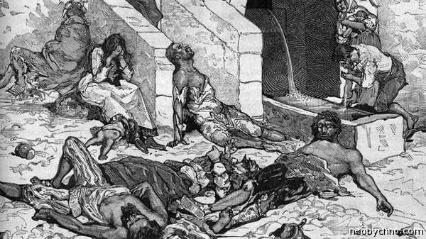 чума в греции